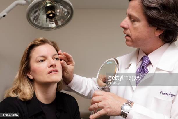 Medical Doctor Consults with Patient