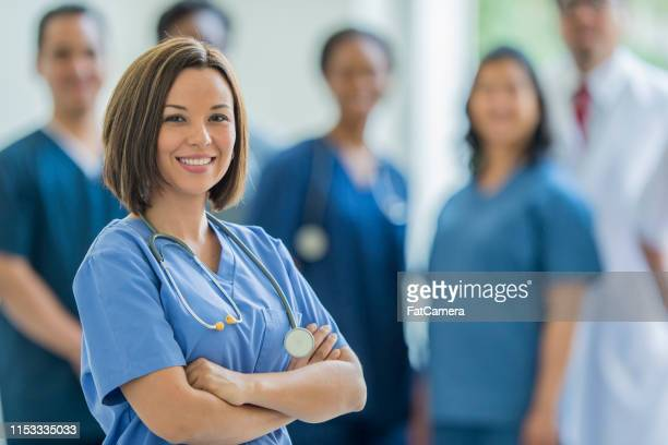medical doctor or nurse - civilian stock pictures, royalty-free photos & images