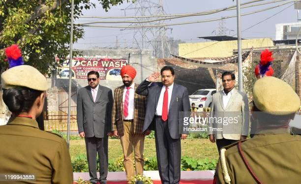 Medical Education Research minister of Punjab OP Soni along with Chairman Punjab State Seed Corporation Jugal Kishore Sharma Sr Vicechairman Punjab...