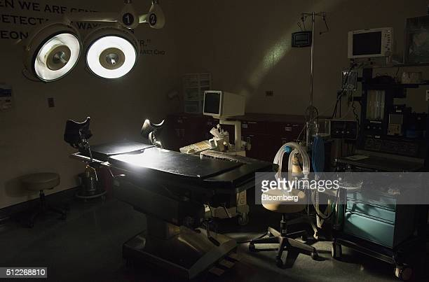 Medical equipment is seen in an operating room at the Whole Woman's Health abortion clinic in San Antonio Texas on Tuesday Feb 16 2016 The clinic's...