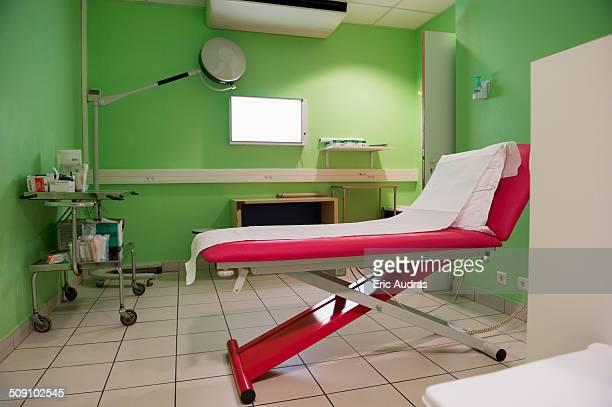 Medical examination room in hospital
