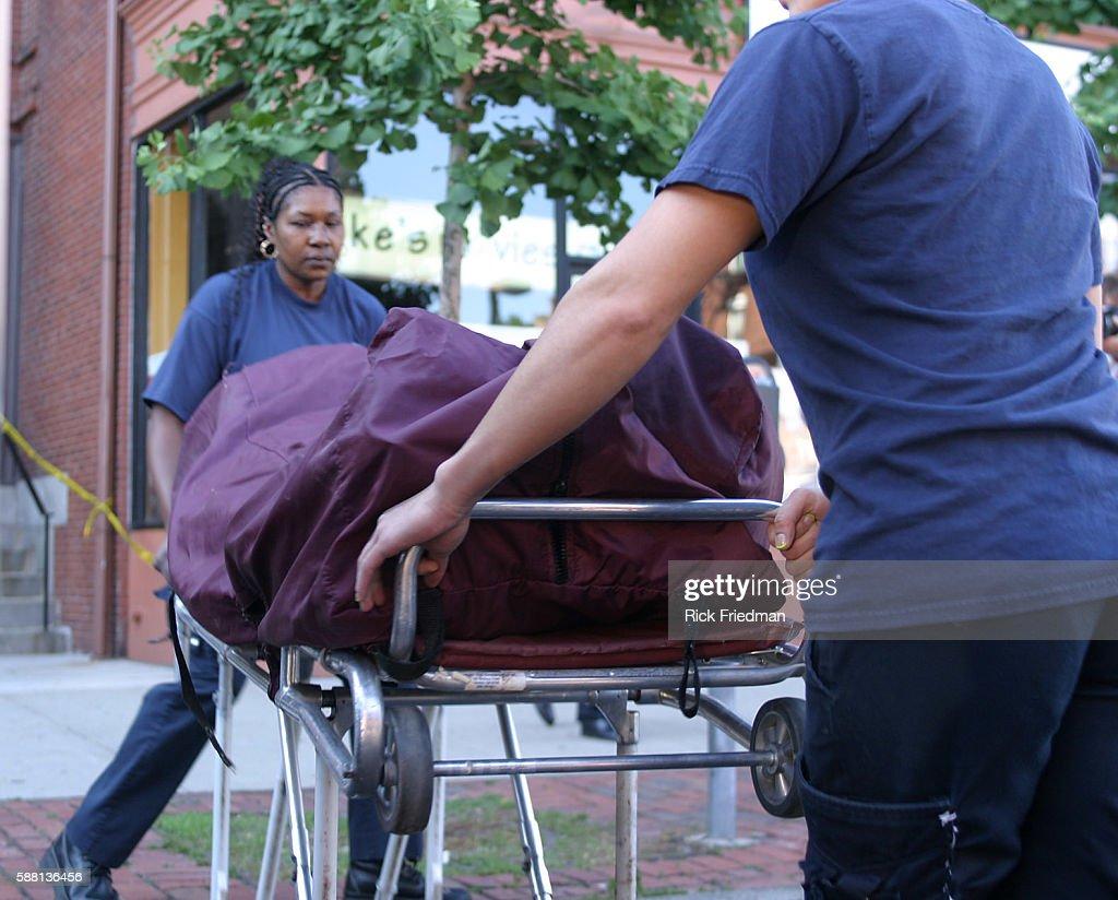 Shooting in Boston : News Photo