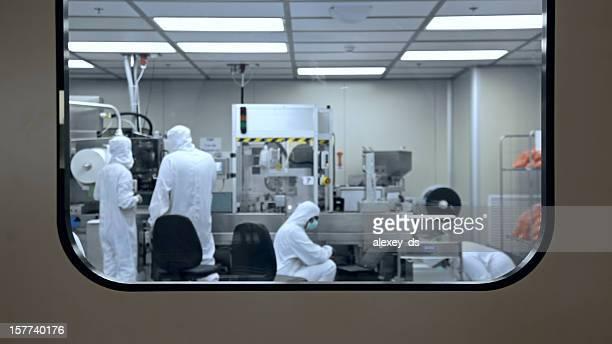 Fábrica de médica laboratorio de producción