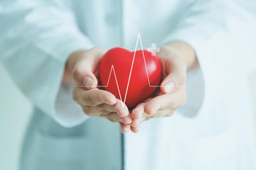 Medical heart cardiology concept 1131552689