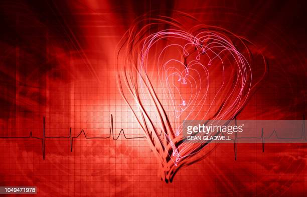 Medical heartbeat abstract