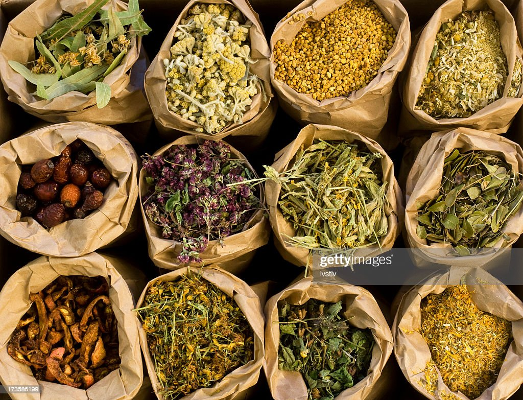 Medical Herbs : Stock Photo