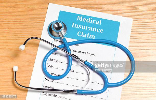 medical insurance claim form - medical malpractice stock photos and pictures