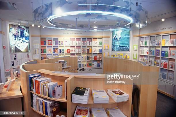 medical library interior - treats magazine fotografías e imágenes de stock