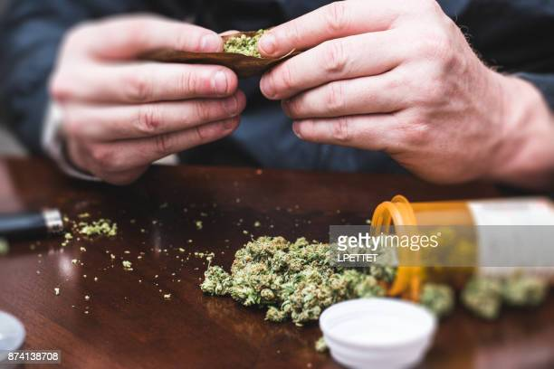 medical marijuana - drug abuse stock pictures, royalty-free photos & images