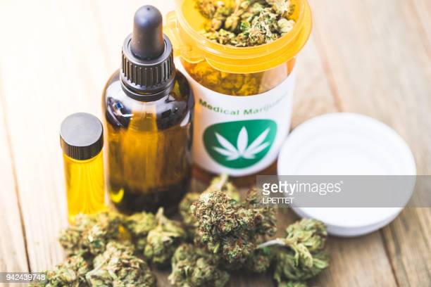 medical marijuana - cannabis plant stock photos and pictures
