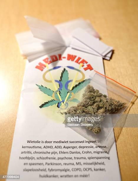 Medical Marijuana with information leaflet
