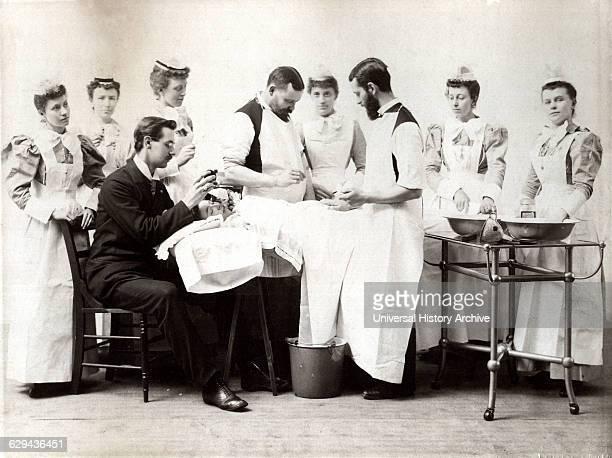 Medical Operation Cincinnati Ohio USA circa 1880