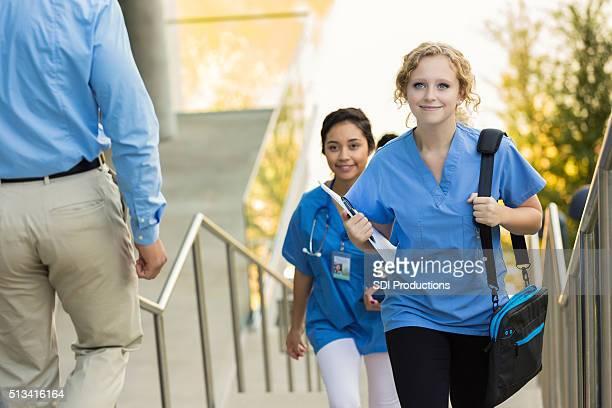Medizinische oder stillende Schüler zu Fuß Klasse