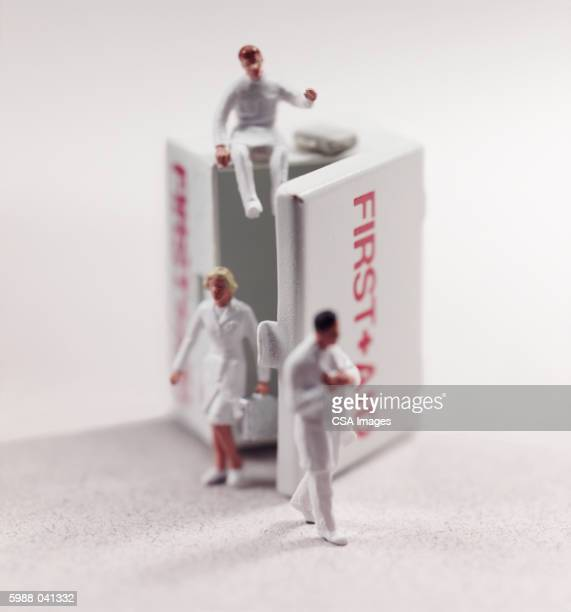 Medical Personnel Figurines