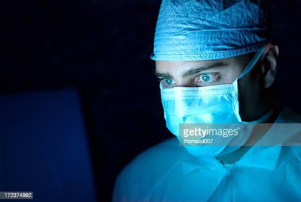 Pessoal médico de visualização