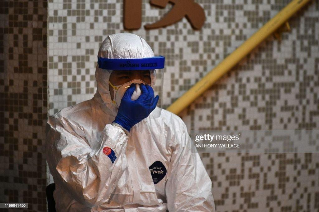 HONG-KONG-CHINA-HEALTH-VIRUS : News Photo