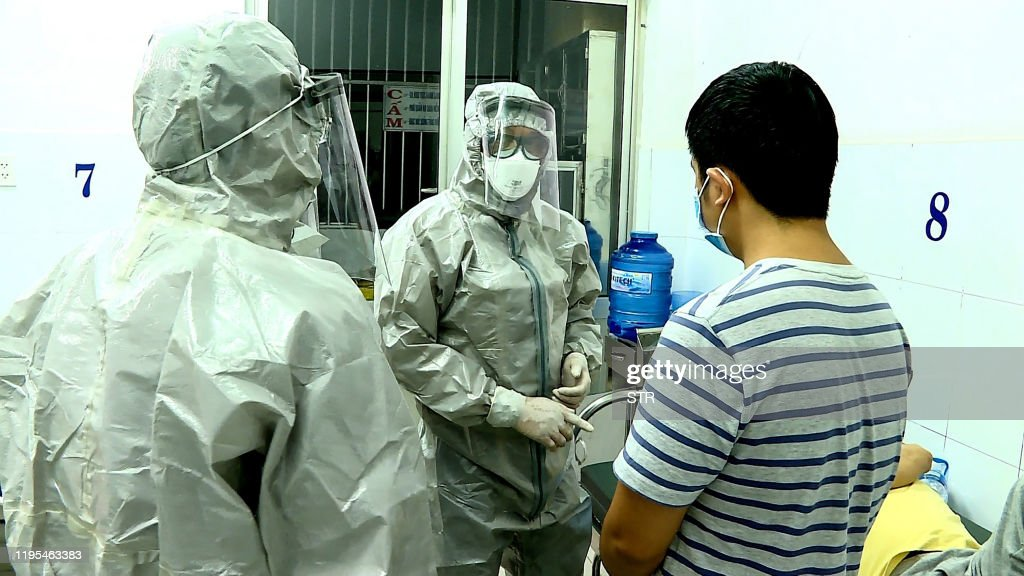 TOPSHOT-VIETNAM-HEALTH-VIRUS : News Photo