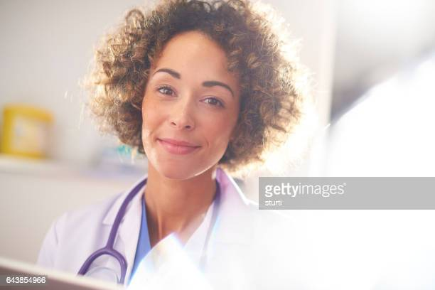 medical professional portrait - truth be told stock photos and pictures