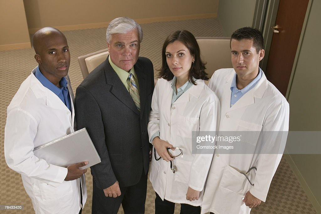 Medical professionals : Stockfoto