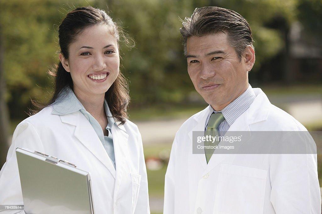 Medical professionals : Stockfoto