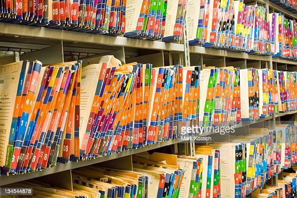 Medizinischen Aufzeichnungen-Heilbehandlung Diagrammen Personalakten