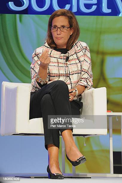 Medical researcher Ilaria Capua attends 'Women In Business And Society' Forum at Piccolo Teatro on September 17, 2013 in Milan, Italy.'Women In...