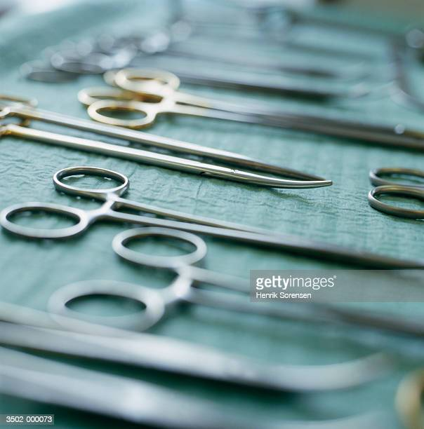 medical scissors - surgical scissors stock photos and pictures