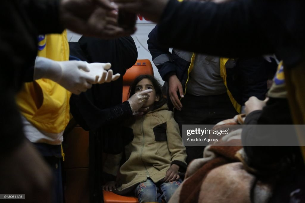 Compulsory Evacuations from Eastern Ghouta : News Photo