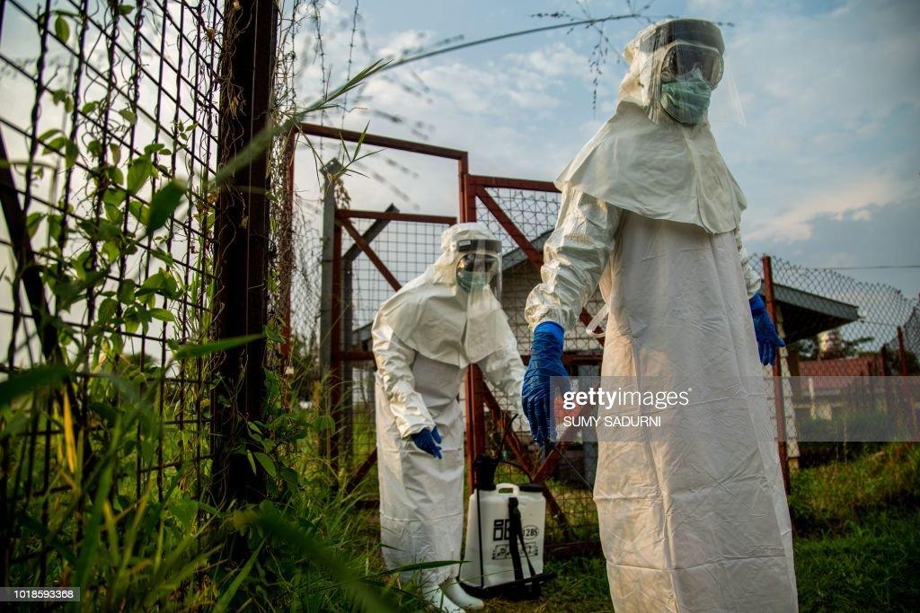 UGANDA-HEALTH-EBOLA : News Photo