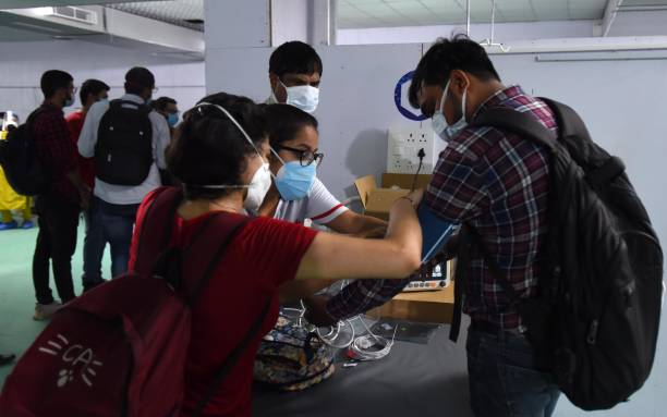 IND: 500-Ded ICU Centre At Delhi's Ramlila Ground