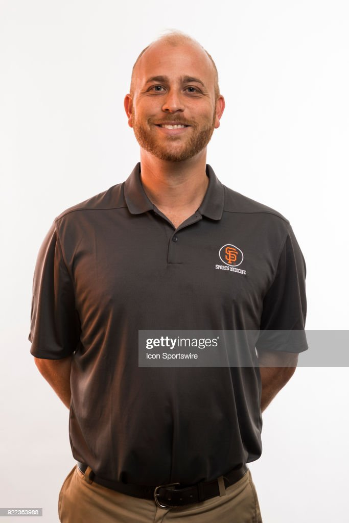 Medical staff David Getsoff poses for a photo during the San Francisco Giants photo day on Tuesday, Feb. 20, 2018 at Scottsdale Stadium in Scottsdale, Ariz.