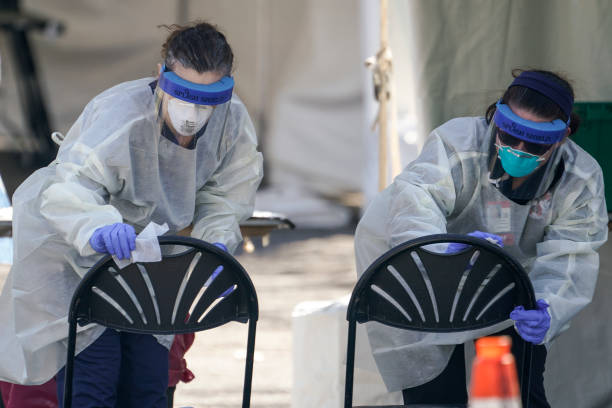 DC: D.C.'s Children's National Hospital Opens Up Drive-Through Coronavirus Testing Site