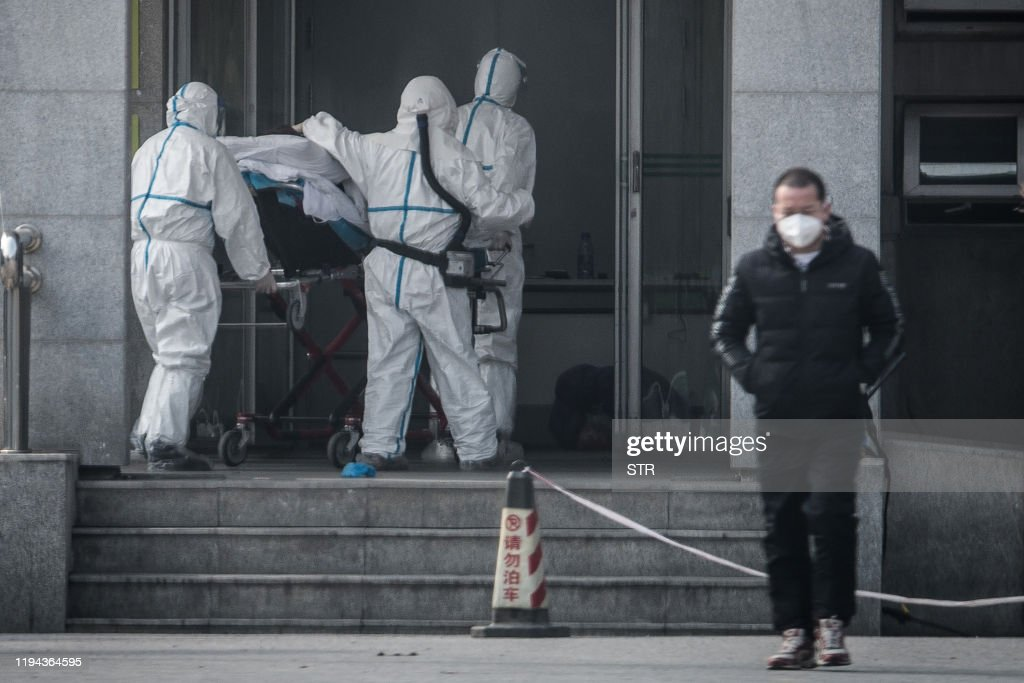 TOPSHOT-CHINA-VIRUS-HEALTH : News Photo