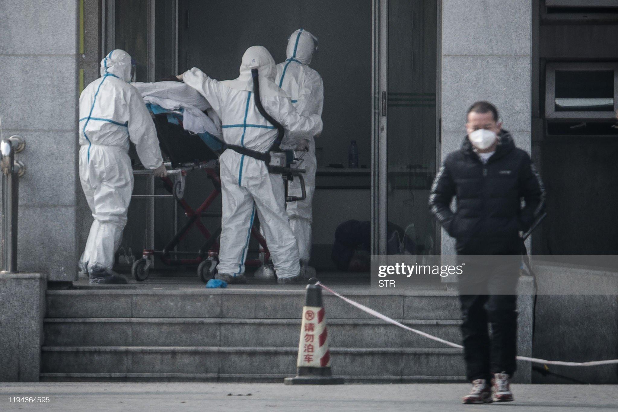 TOPSHOT-CHINA-VIRUS-HEALTH : ニュース写真