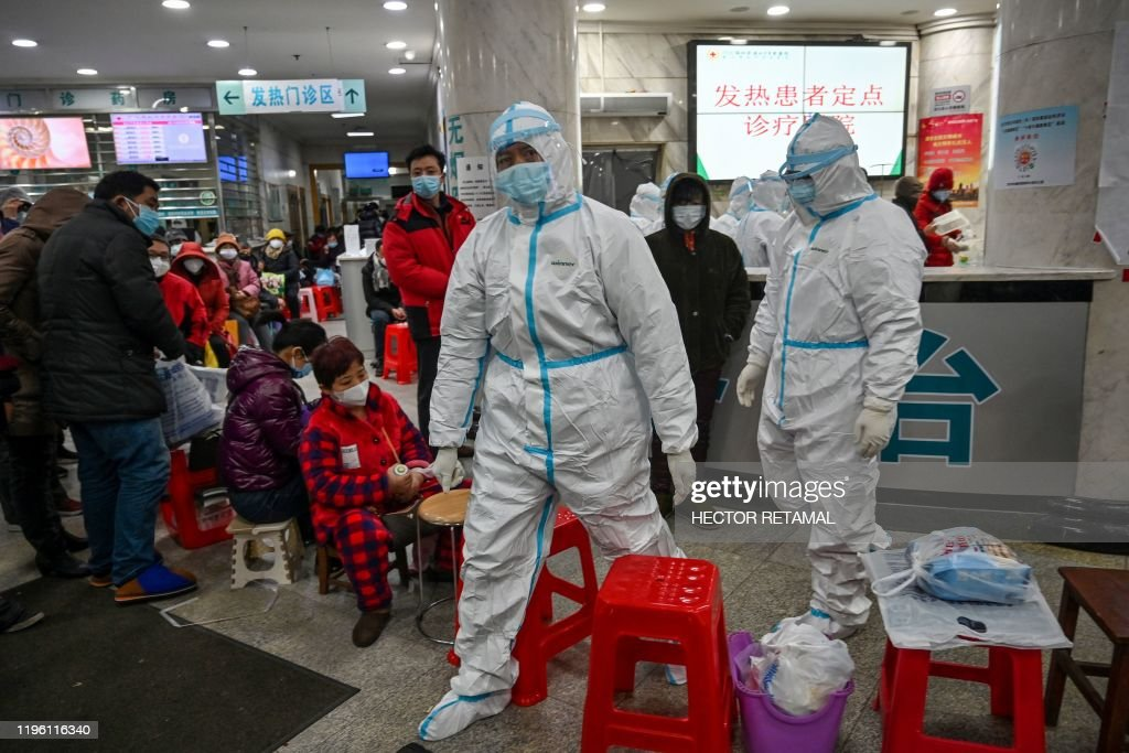 CHINA-HEALTH-VIRUS : News Photo