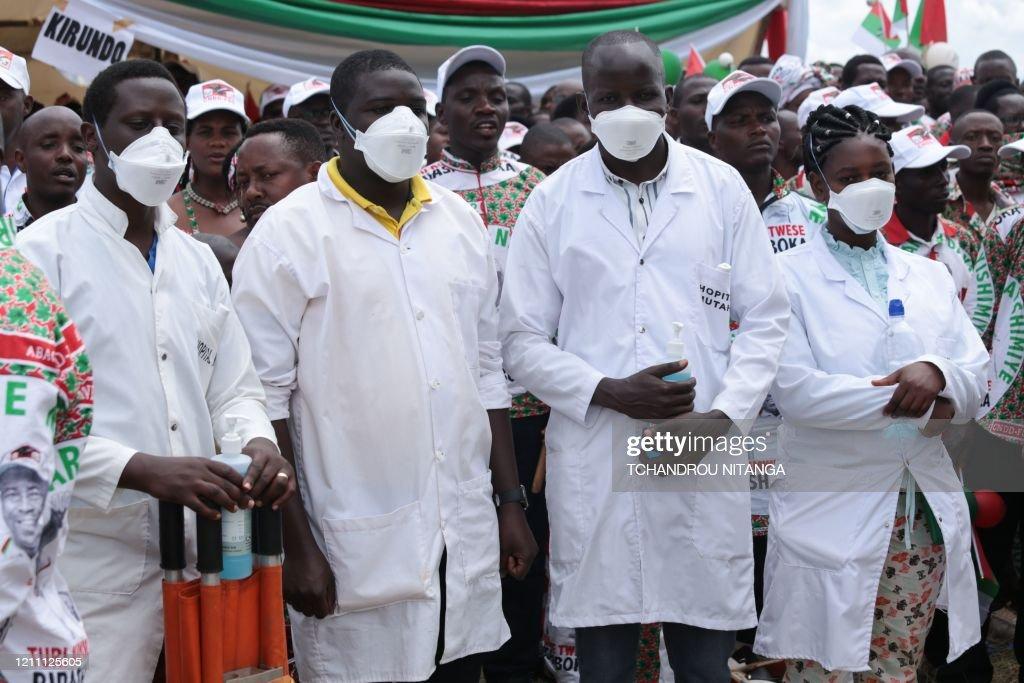 BURUNDI-HEALTH-VIRUS-POLITICS-ELECTION : News Photo