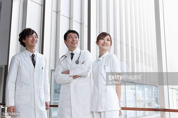 medical staff - group f imagens e fotografias de stock
