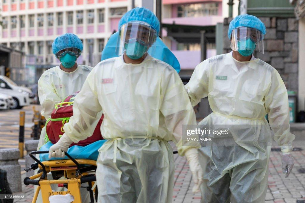 HONG KONG-HEALTH-VIRUS : News Photo