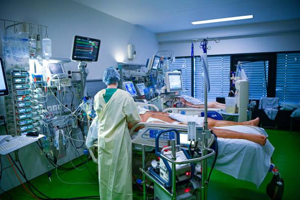 DEU: Aachen Hospital Treats Covid-19 Patients