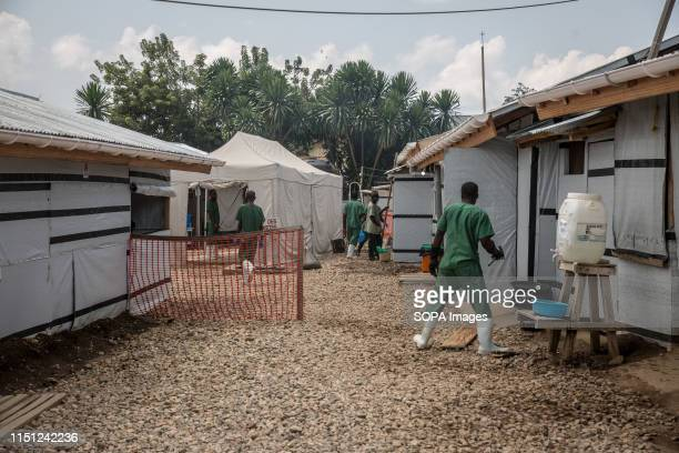 Medical staff working at the Ebola treatment centre in Beni eastern Democratic Republic of the Congo The DRC is currently experiencing the second...