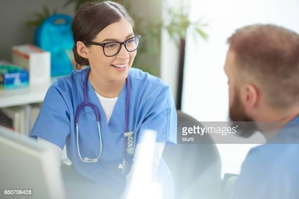 Réunion de l'équipe médicale