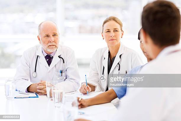 Medical Team In Conference Room