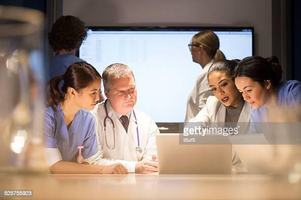 Medizinisches team-Meetings