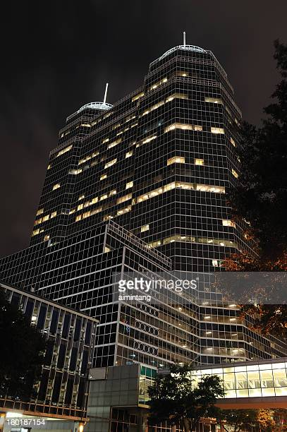 medical towers in houston - medical building stock pictures, royalty-free photos & images