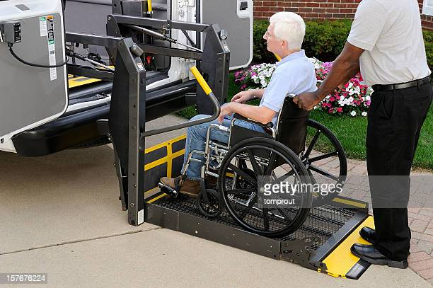 medical transportation - assistive technology stock photos and pictures