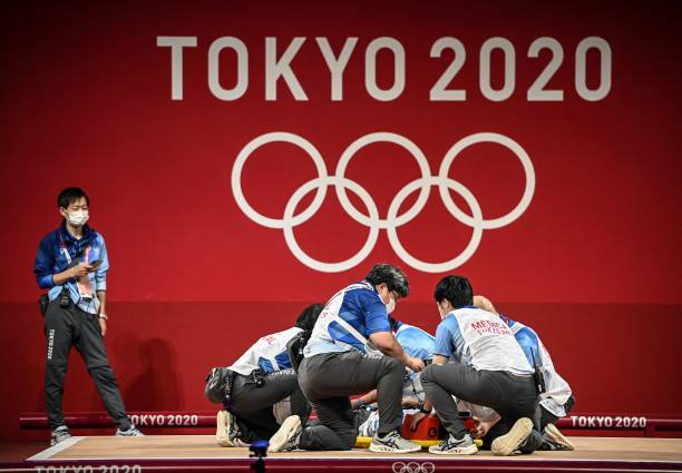JPN: Weightlifting - Olympics: Day 11