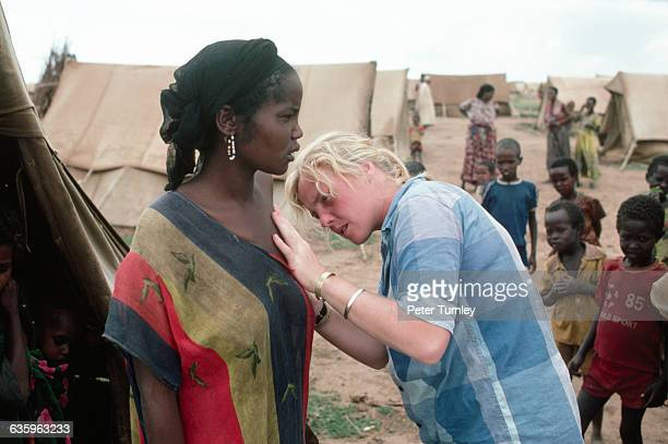 Medical workers from the Red Cross and Doctors Without Borders try and treat malnutrition and diseases such as cholera in the TugWajale refugee camp...