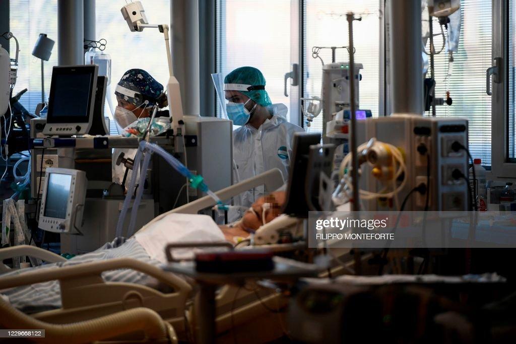 ITALY-HEALTH-VIRUS : Fotografia de notícias