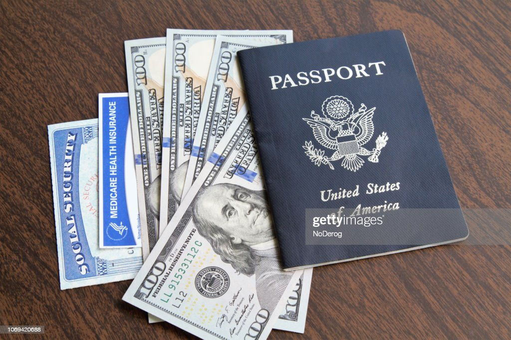 Social Security Cards With Usa Pport