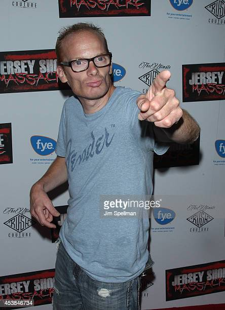 Medicated Pete attends the Jersey Shore Massacre New York Premiere at AMC Lincoln Square Theater on August 19 2014 in New York City